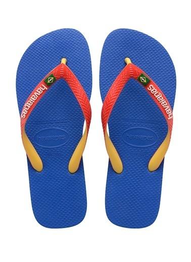 Havaianas Havaianas Brasil Mix  Erkek Plaj Terliği 101646188 Mavi